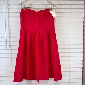 J. Crew Petite 10 Dress STrapless Mini